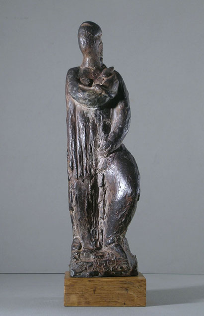 Libero Andreotti, standing female figure, a virtue