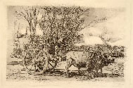 JAMES ABBOTT MCNEILL WHISTLER, Alderney Street, etching