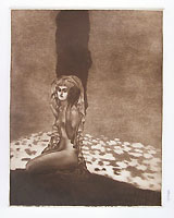 LUIGI BONAZZA, Morning, mezzotint on steel