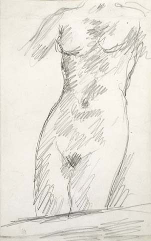 Pierre Bonnard, a female body