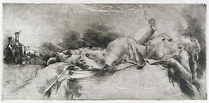 LUIGI CONCONI, Ebrezza, etching, PRIVATE COLLECTION
