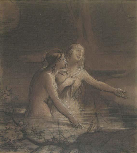 Mauro Conconi Two Women Bathing