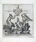 BENVENUTO DISERTORI, Apollo e la Fortuna, etching and engraving