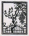 BENVENUTO DISERTORI, The Enclosed Garden, woodcut