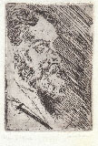 CARLO ERBA,Portrait of his Father, etching