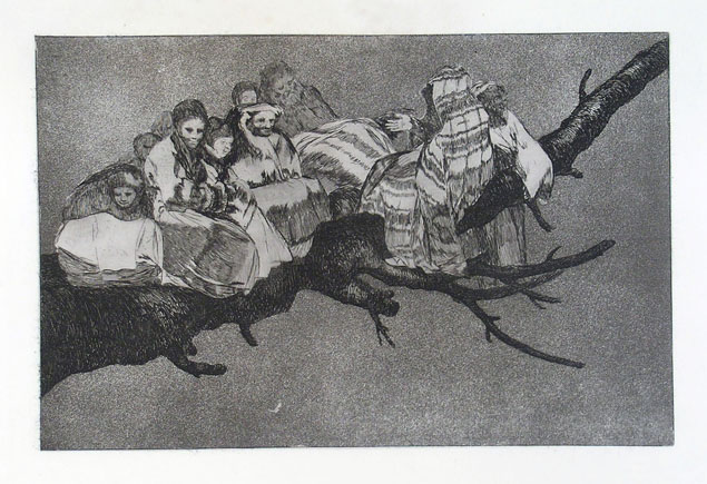 Francisco Goya, disparate ridiculo