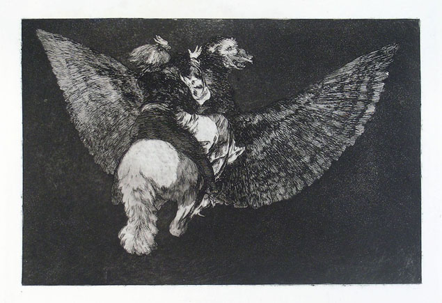 Francisco Goya, disparate volante