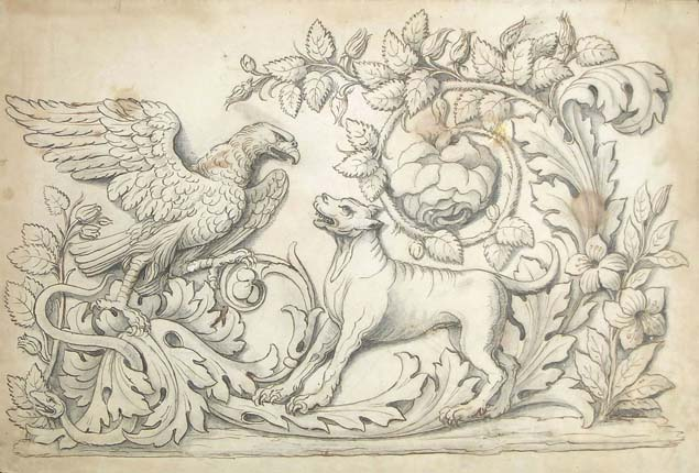 Italian artist, c. 1800, a neoclassical frieze