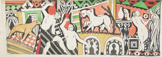 Bela Kadar, figures and animals