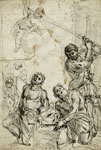 FRANCESCO LAMARRA, Martyrdom of Saints Nazarius and Celsus, pen