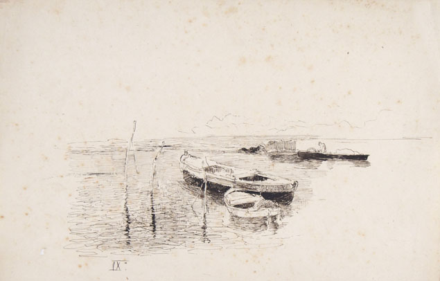 Luigi Nono, boats on the lagoon