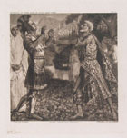 LUIGI RATINI, Aeneas meets Anchises, photogravure