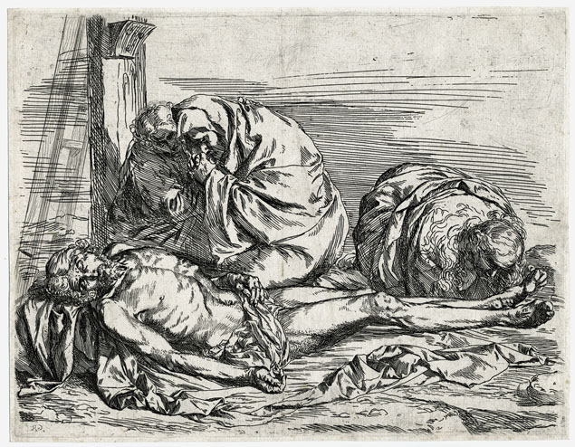 Jusepe de Ribera, the lamentation