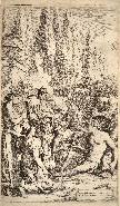 SALVATOR ROSA, The Genius of Salvator Rosa, etching