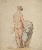 THOMAS ROWLANDSON, Juno, watercolour, after Rosso Fiorentino