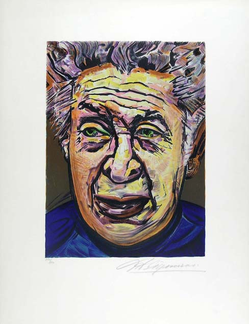 David Alfaro Siqueiros, self-portrait