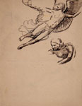 MARIO TOZZI, Angels, pen and black ink