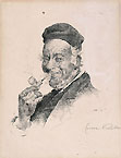CESARE VIANELLO, A Pipe Smoker, pen