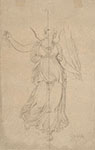 ALLEGORICAL FIGURE OF WINGED VICTORY