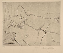FANCIULLE DORMIENTI (Two Sleeping Girls) 1927