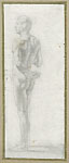 STUDY OF A STANDING MALE FIGURE